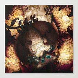 Batmoon Canvas Print