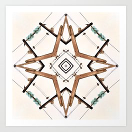 Electrico Art Print