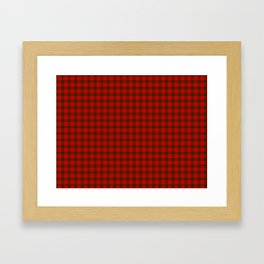 MacDougall Tartan Framed Art Print