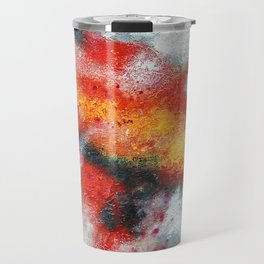 Clouded Red Travel Mug