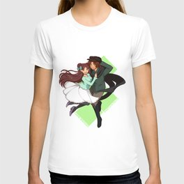 livNPC - Finale - Marie and Shasta T-shirt