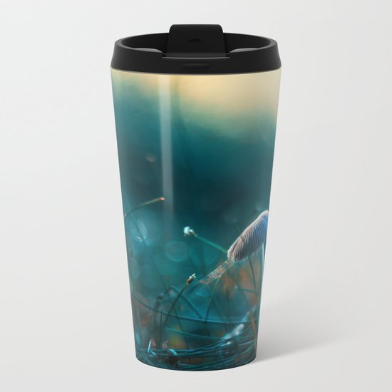 In the Dusk of Dawn Metal Travel Mug