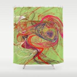 Fractal Design Duvet Cover 401 Shower Curtain