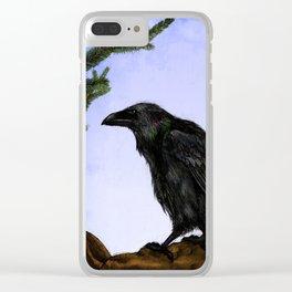 Hugin and Munin Clear iPhone Case
