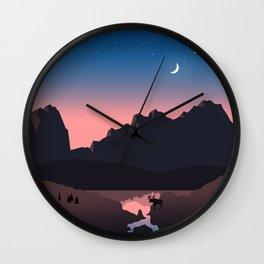 Rocky Mountain Marvelous Wall Clock