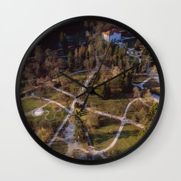 Isn't It A Pity Wall Clock