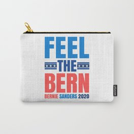 FEEL THE BERN BERNIE SANDERS 2020 Carry-All Pouch