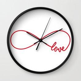 Never ending love Wall Clock