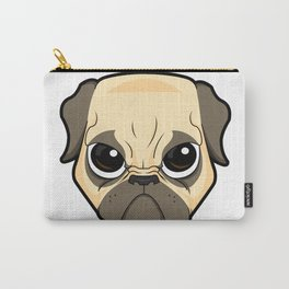 Pissed Pug Carry-All Pouch