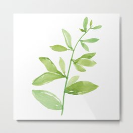 Leaf Series Metal Print