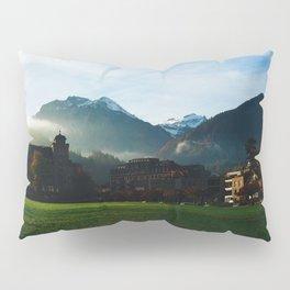 Foggy Switzerland Pillow Sham