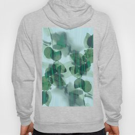 Two Lives - Botanical Leafs Abstract Hoody