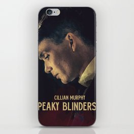 Peaky Blinders, Cillian Murphy, Thomas Shelby, BBC Tv series, gangster family iPhone Skin