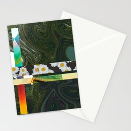 Green Mix Stationery Cards
