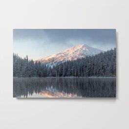 Mount Bachelor Sunrise Metal Print