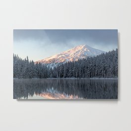 Mount Bachelor Sunrise Metal Print