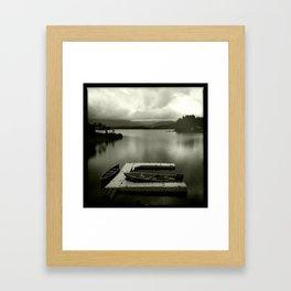 Colorado calm Framed Art Print
