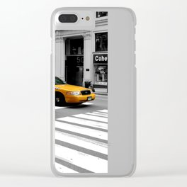 NYC Yellow Cabs Radio Shack - USA Clear iPhone Case