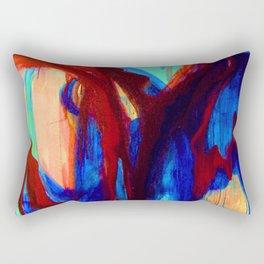 Apocalyptic Dialogue Rectangular Pillow