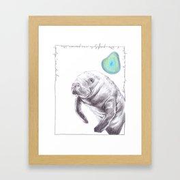 John S. Framed Art Print