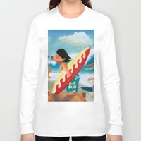 surfer Long Sleeve T-shirts featuring Surfer by colortown
