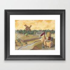don chisciotte Framed Art Print