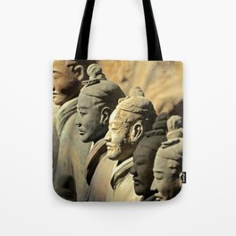Chinese Terracotta Warriors Tote Bag