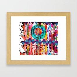 Holiday Mash Up Framed Art Print