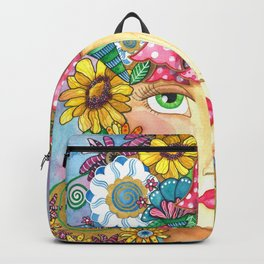 Sixties Bubble Flip Backpack