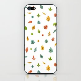 Autumn is coming iPhone Skin