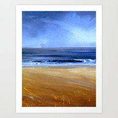 see the sky about to rain Art Print