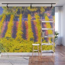 Vineyard Art Wall Mural