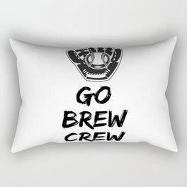 Go Brew Crew Rectangular Pillow