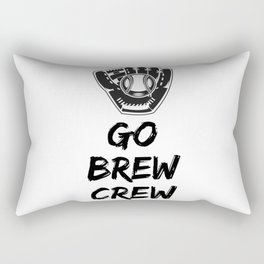 Go Brew Crew Rectangular Pillow