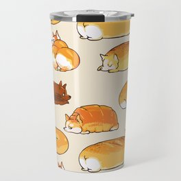 Bread Corgis Travel Mug