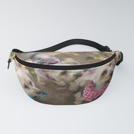 Four Yorkie Friends Fanny Pack