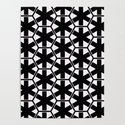 Multi Pattern Black and White Design by artaddiction45