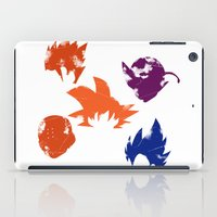 dragon ball z iPad Cases featuring Z Fighters by luvusagi
