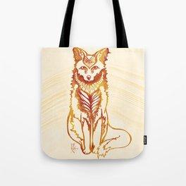 Ethereal Fox Tote Bag