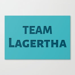 The Lagertha's Army Canvas Print