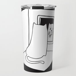 Schrödinger's cat Travel Mug