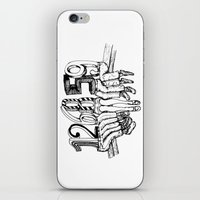 numbers iPhone & iPod Skins featuring Numbers by Ilya kutoboy