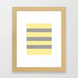 bee movie script shirt Framed Art Print