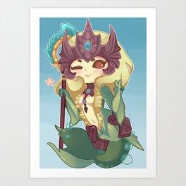 Nami Chibi Art Print