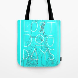 LOST DOG DAYS Tote Bag
