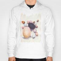 eggs Hoodies featuring Eggs by Bridget Davidson