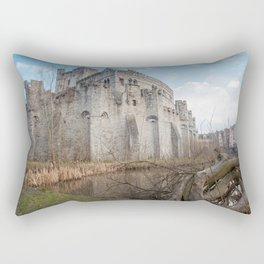 Gravensteen from Ghent Rectangular Pillow