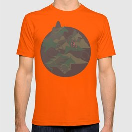 Camouflage Year of Horse T-shirt