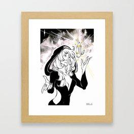 Inktober : Mysterious Framed Art Print