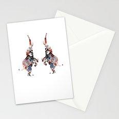Dancing Elephants Stationery Cards